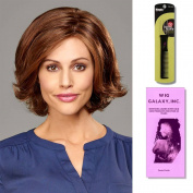 Peyton by Henry Margu, Wig Galaxy Hair Loss Booklet & Magic Wig Styling Comb/Metal Pick Combo (Bundle - 3 Items), Colour Chosen