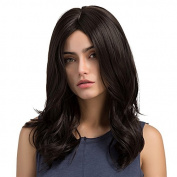 Synthetic Wigs for Women - Natural Looking Long Curly Heat Resistant Hair Replacement Wig 50cm