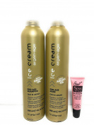 "Inebrya Ice Cream Pro-Age Olio Di Argan Shampoo 10.14 Oz and Mask 10.14 Oz ""Free Starry Lipgloss 10 Ml"""