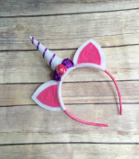 Unicorn horn headband - unicorn lover gifts - unicorn headband - felt unicorn headband - unicorn gifts for girls