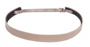 1907 Pebbled Leather Skinny Headband, NHH032