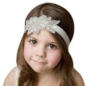 Coobbar 2pcs Hair Bands Princess Style Crystal Decor Headbands Rhinestone Hairband