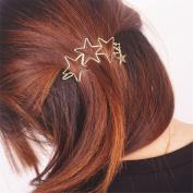 Women Ladies Popular Hollow Star Tassel Hairpin Hair Pin Hair Clips Hair Accessories