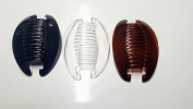 3 sets Interlocking Banana Combs Hair Clip French Side Comb Holder