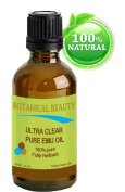 Botanical Beauty EMU OIL ULTRA CLEAR. 100% Pure/Natural /Golden / Fully Refined.