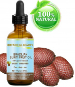 """Brazilian BURITI FRUIT OIL 100% Pure / Natural / Cold Pressed Carrier Oil / Undiluted. For Face, Body, Hair, Lip and Nail Care. """"One the richest natural sources of vitamin A, E and C."""" From the Amazon Rainforest."""