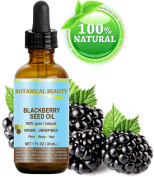 Botanical Beauty Natural Blackberry Seed Oil, 1 fl. oz. / 30 ml
