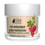 ilike organic skin care ilike rich antioxidant grape moisturiser 50ml - 50ml