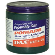 Dax Pomade Now with Lanolin compounded with Vegatable Oils 220ml Jar