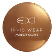 EX1 Cosmetics Invisiwear Compact Powder, Number 2.0