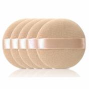 Bodhi2000 5 Pcs Face Powder Puff Cosmetic Makeup Sponge Tool