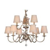 $illumination Country Chandelier Modern Living Room Lights Retro Crystal Lamp Bedroom Lights Indoor light