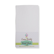 100% Organic Cotton Premium Fitted Sofest Cot Sheet made in the UK