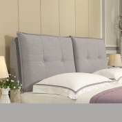 QiangDa Double Bed Cushion Support Bedroom Wooden Bed Head Pillow 7 colours