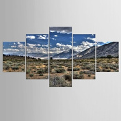 GAG-Decorative paintings@1769 Photographic Print Landscape Modern Realism,Five Panels Canvas Any Shape Print Wall Decor For Home Decoration , include inner frame