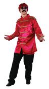 Bristol Novelty AC413A Sgt Pepper Budget Jacket, Red, 42 - 110cm
