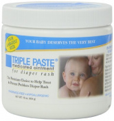 Triple Paste Medicated Ointment for Nappy Rash, Pack of 4