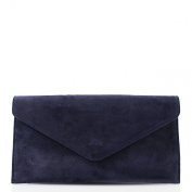 Linen Galaxy Women Real Suede Leather Chain Strap Clutch Shoulder Bags Women Fancy Prom Party Purses
