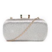 SALE SALE NEW Women Furry Material Clutch Envelope Style Evening Purse Wedding Prom Party Clutch Bag