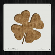 Shamrock Saint Paddy Luck Leaves Style 19334 DIY Plastic Stencil Acrylic Mylar Reusable
