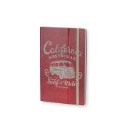 Stifflexible Adrenaline Notebook Red 13cm X 21cm , 192 Pages, 85gsm