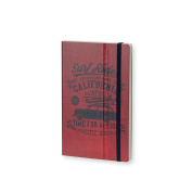 Stifflexible Adventure Notebook Red 5X8.25, 192 Pages, 85gsm