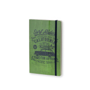 Stifflexible Adventure Notebook Green 5X8.25, 192 Pages, 85gsm