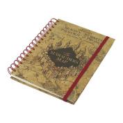 Harry Potter Notebook A5 Marauders Map Pyramid International Cancelleria