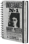 Harry Potter Notebook A5 Undesirable No 1 Pyramid International Cancelleria