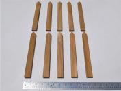 Teak Plant Markers, solid TEAK wood, 25cm long, great for inside or outside