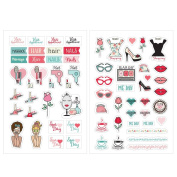 Prima Marketing Julie Nutting Planner Stickers-Beauty