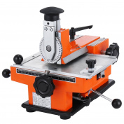 BestEquip Semi-automatic Metal Stamping Printer Sheet Embosser Metal Embosser Suitable for Copper Aluminium Stainless Steel and Plastic