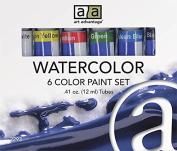 Art Advantage Watercolour Paint Set, 6 Colour