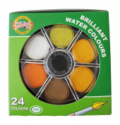 Koh-I-Noor Watercolour Wheel Stack Pack set of 24