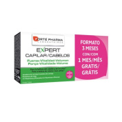 Forte Pharma Expert Hair Cheveux Capilar 84 Caps 3 months Anti Hairloss Hair Everyday