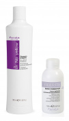 Fanola No Yellow Shampoo 350 ml & Fibre Fix n2 Bond Connector Sealing Cream 100 ml