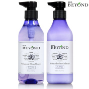 Professional Daily Shampoo & Conditioner Set [ECO BEYOND] Anti-Thinning, Nourish Scalp, Deep Cleansing, Oily to Normal Hair, Includes Blueberries, Cranberries Extract [No Paraben] 450ml each