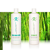 Aromatic Shampoo & Conditioner 470ml Therapeutic ,Sodium Chloride and Paraben Free For Daily Use. Recommended After Keratin Treatment
