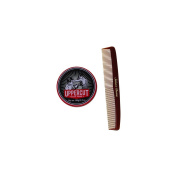 Bundle -2 items : Uppercut Deluxe Pomade, 100ml & Salon's Choice Barber Comb
