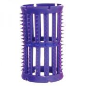 SKELOX Plastic Hair Rollers/ Curlers 12 x 36mm Lilac + Free Pins! by Skelox