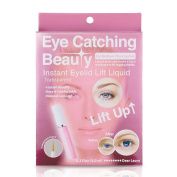 Instant Eyelid Lift Liquid Glue, for Sagging Lid or Mono-lid, Natural & Invisible Look, Transparent - By Eye Catching Beauty Dear Laura