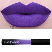 Baomabao Lipstick Makeup Waterproof Long Lasting Liquid Velvet Matte Lip Gloss Lip