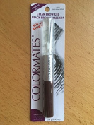 ColorMates Clear Brow Gel with Black Brown Mascara 15ml
