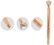Xiaoyu Big Diamond Microblading Pen Permanent Eyebrow Tattoo Machine Manual Pen - Rose Gold