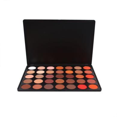 Miskos Makeup Palette 35 Colour Warm Pigment 35OM Matte Nature Glow Eyeshadow Set