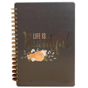 Freedi Spiral Notebooks and Journals Hardcover Diary for School Girl Kids 17.8X25.5cm 120 Page