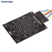 RobotDyn - Capacitive Touch Disc Pad for use with Capacitive module. 15 keys