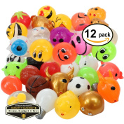 Mighty Gadget (R) 12 pack of Sticky Squishy Funny Splat Balls