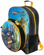 Lego Batman Backpack With Detachable Lunchpack