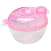 Gemini_mall® Baby Food Storage Container Box Baby Feeding Milk Powder Dispenser